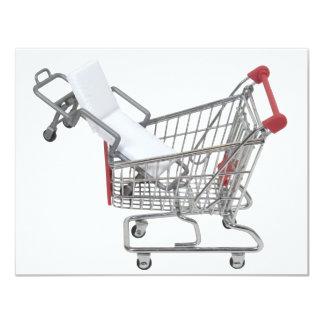 ShoppingMedicalCoverage090409 11 Cm X 14 Cm Invitation Card