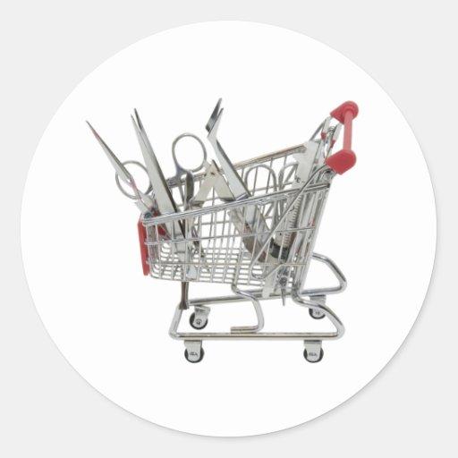 ShoppingMedicalTools090409 Classic Round Sticker