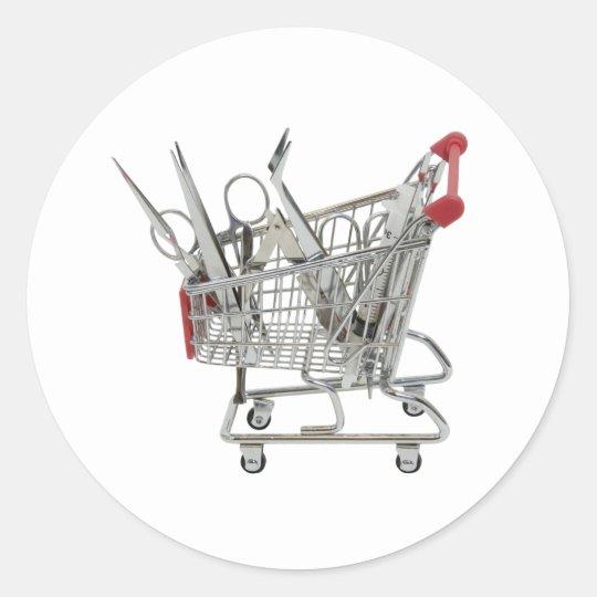 ShoppingMedicalTools090409 Round Sticker