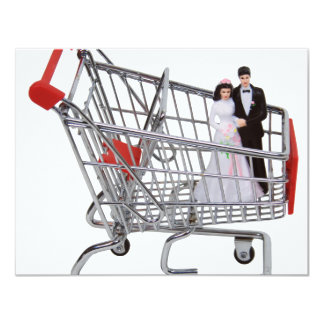 ShoppingNewlyWeds040909 11 Cm X 14 Cm Invitation Card