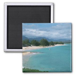 Shore 2 square magnet