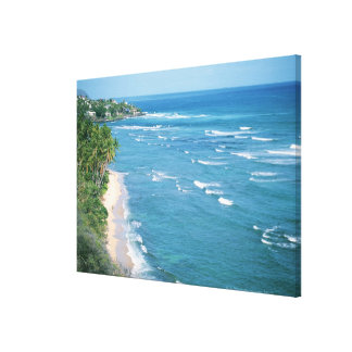 Shore 9 canvas print
