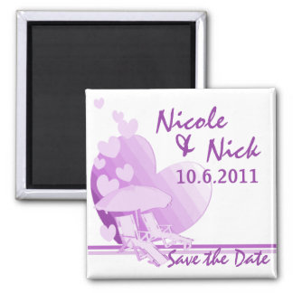 Shore Love Save the Date Magnet
