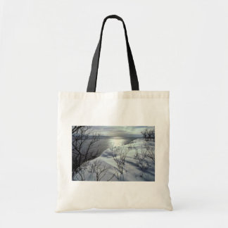 Shore of Nushagak Bay/River Canvas Bags