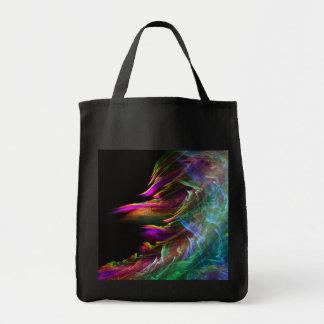 shore of the fractal sea tote bag