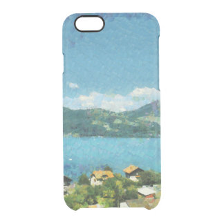 Shore of the lake clear iPhone 6/6S case