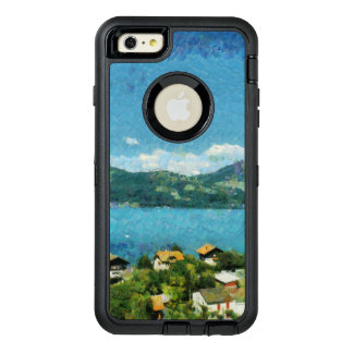Shore of the lake OtterBox defender iPhone case