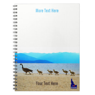Shore Patrol Canada Geese Notebooks