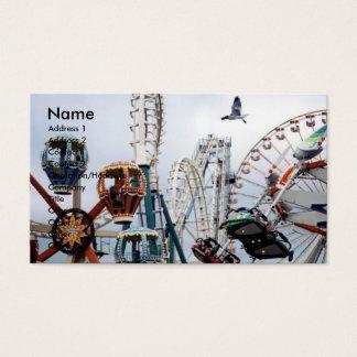 Shore Pier Business/Profile Card