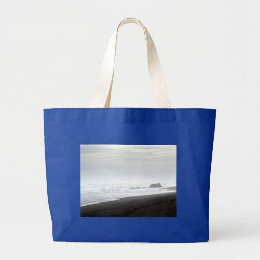 Shore Rocks Tote Bags