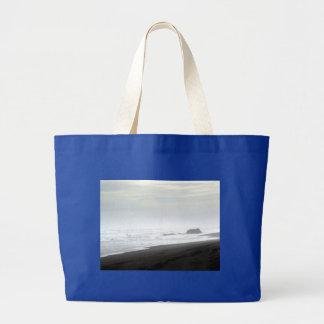 Shore Rocks Jumbo Tote Bag