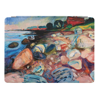 Shore with Red House by Edvard Munch iPad Pro Cover
