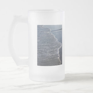 Shoreline Beauty Frosted Glass Beer Mug