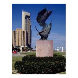 Shoreline Boulevard, Corpus Christi, TX Postcard