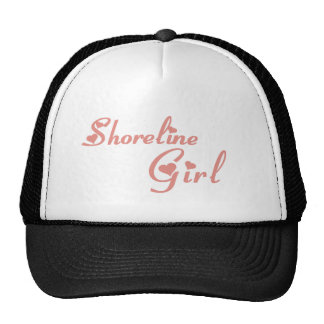 Shoreline Girl tee shirts Mesh Hat