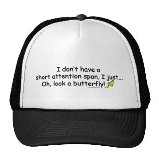Short Attention Span Butterfly Hat