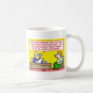 short attention span news anchor mugs