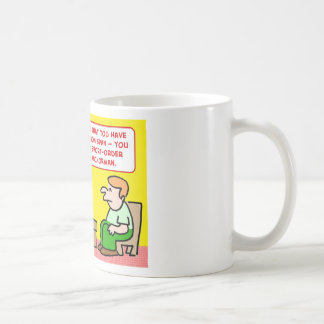 short attention span news anchor coffee mug