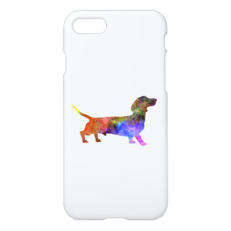 Short Haired Dachshund 01-2 iPhone 8/7 Case