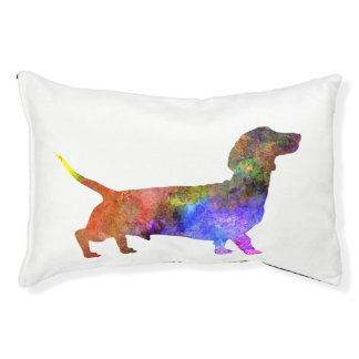 Short Haired Dachshund 01-2 Pet Bed