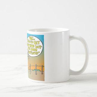SHORT HORN CARTOON / FARMER HUMOR COFFEE MUG