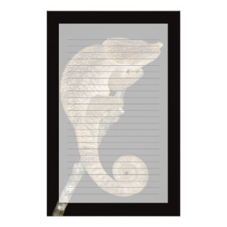 Short-horned chameleon(Calumma brevicornis) Customized Stationery