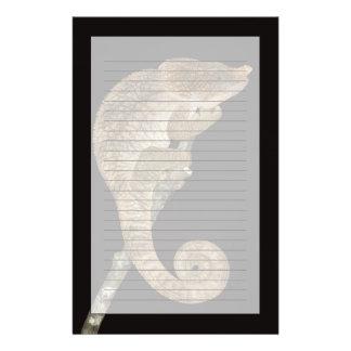 Short-horned chameleon(Calumma brevicornis) Customized Stationery