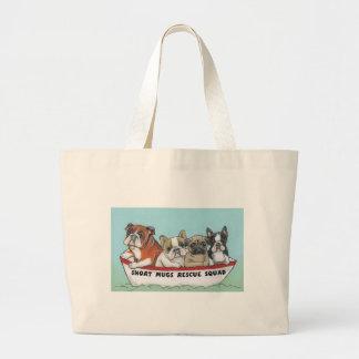 Short Mugs Rescue Squad Jumbo Tote Bag