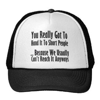 Short People Quote Cap