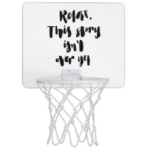 Short Basketball Quotes Life Quote Mini Basketball Hoops   Zazzle.com.au Short Basketball Quotes