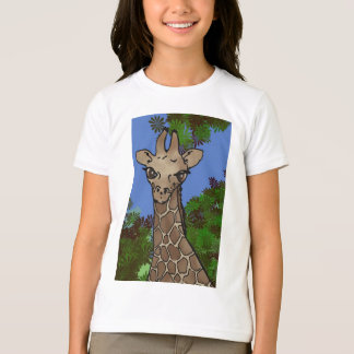 short sleeve giraffe t-shirt II