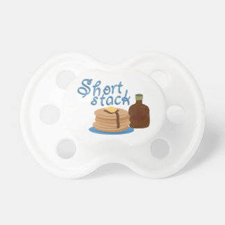 Short Stack Baby Pacifiers