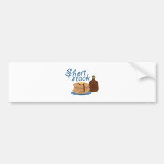 Short Stack Bumper Sticker