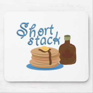 Short Stack Mouse Pad