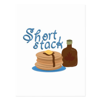 Short Stack Postcard