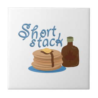 Short Stack Small Square Tile