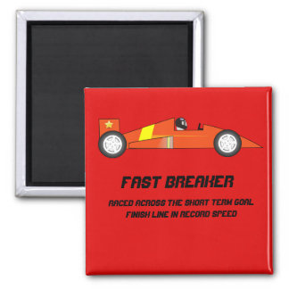 Short Term Goal Reward - Race Car Design Magnet