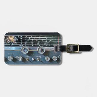 Short Wave Radio Receiver Luggage Tag