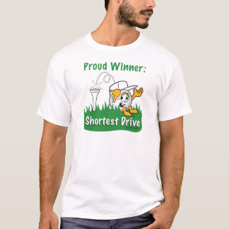 Shortest Drive Hole Prize For Golf Tournament T-Shirt