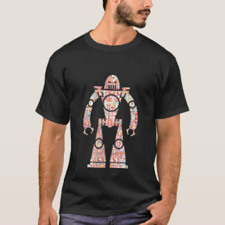 Shorty Circuit Robot T-Shirt