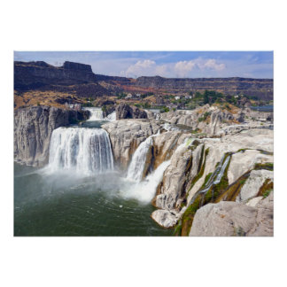 Shoshone Falls on the Snake River, Idaho Poster