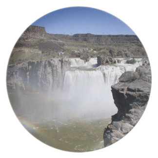 Shoshone Falls on the Snake River in Twin Falls, Party Plate