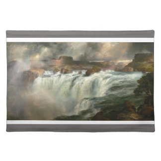 Shoshone Falls on the Snake River - Thomas Moran Placemat