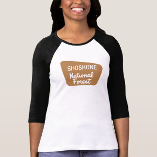 Shoshone National Forest (Sign) T-Shirt