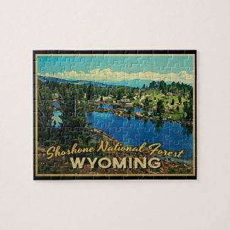 Shoshone National Forest Wyoming Puzzle