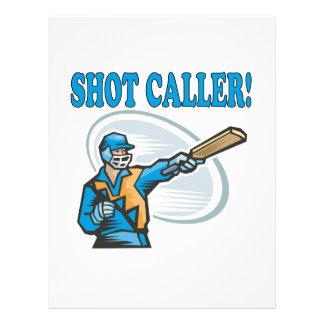 Shot Caller Full Color Flyer