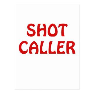 Shot Caller Postcard