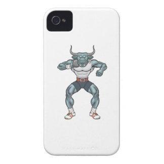 shot put bull Case-Mate iPhone 4 cases