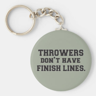 Shot Put Discus Hammer Javelin Throw Keychain