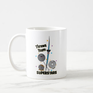 Shot Put Discus Hammer Javelin Throw Mug Gift